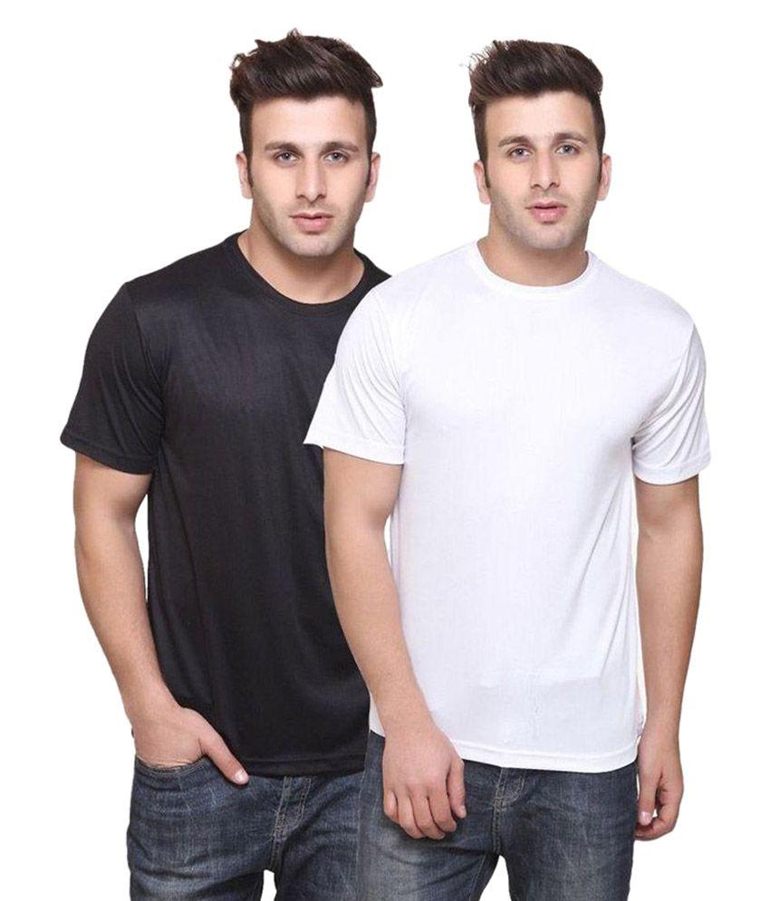 TrendBAE Gym/Running T-Shirts - Pack of 2