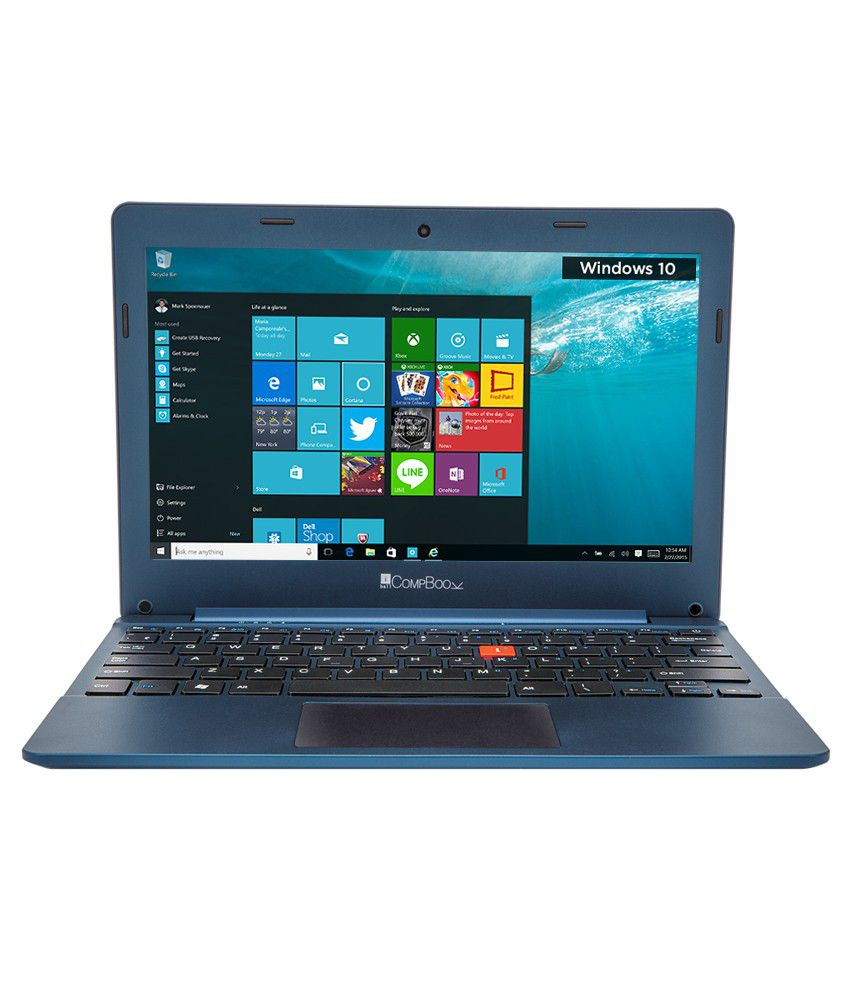 iBall CompBook- Excelance Notebook (Intel Atom- 2 GB RAM- 32 GB eMMC- 29.46 cm (11.6)- Windows 10) (Blue) By Snapdeal @ Rs.9,199