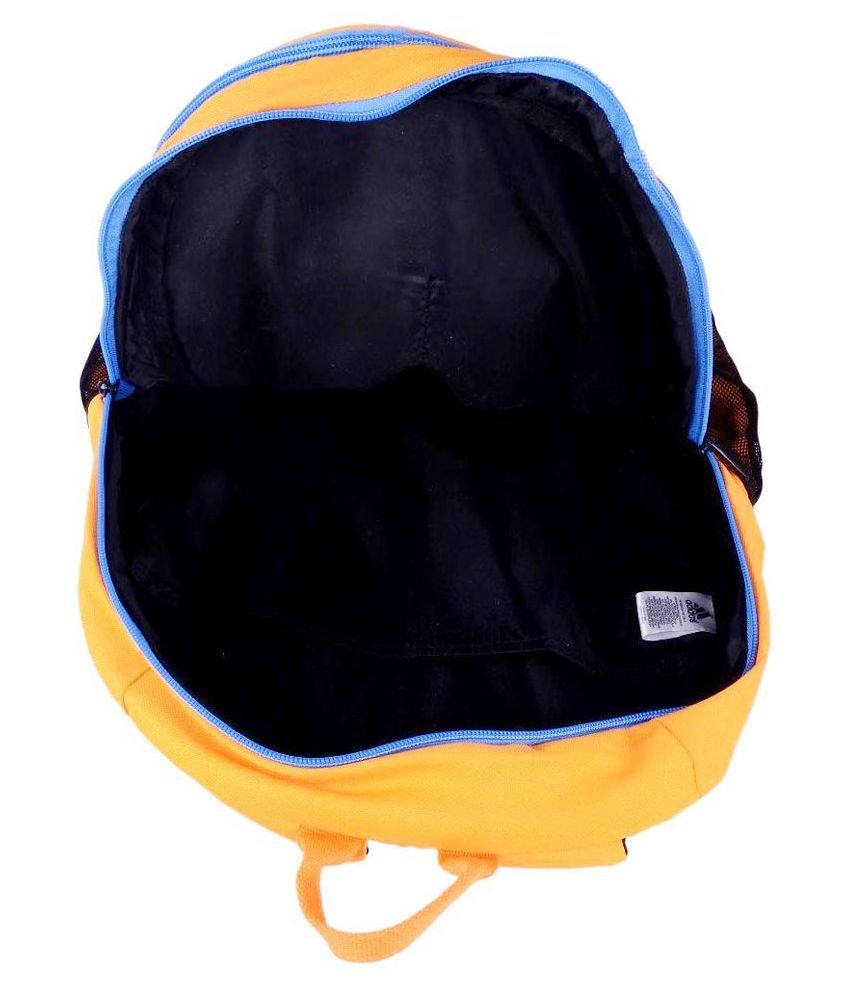 caaee0ea55bd4a Adidas Orange Polyester Casual Backpack - Buy Adidas Orange ...