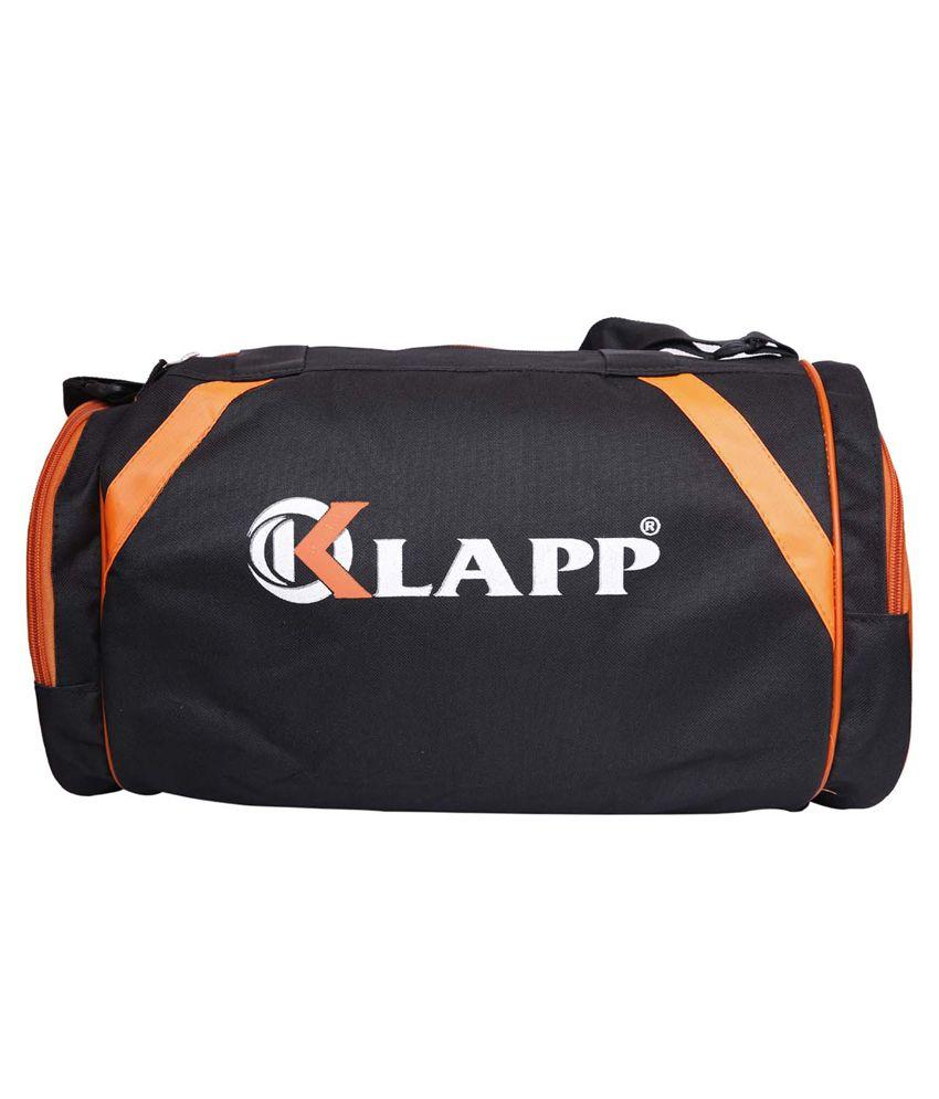 Klapp Sports Orange Black Gym Bag - Buy Klapp Sports Orange Black Gym Bag  Online at Low Price - Snapdeal 402ca02025d3d