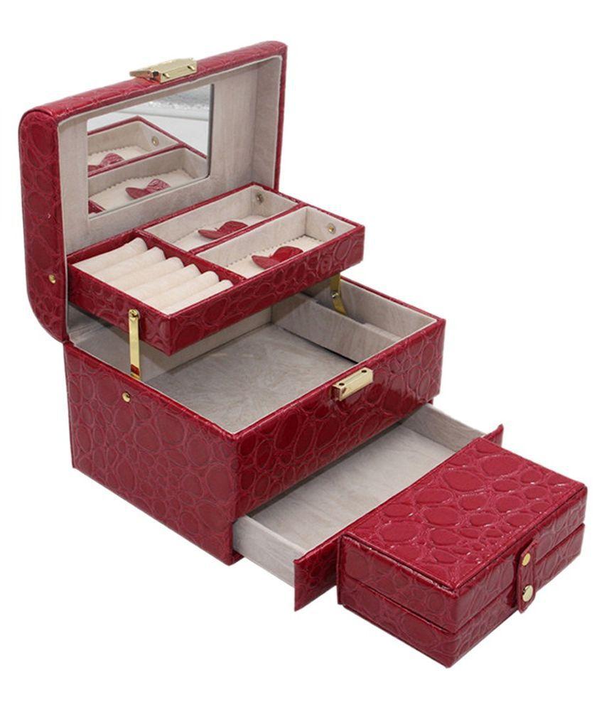 Knott Pink Jewellery Box