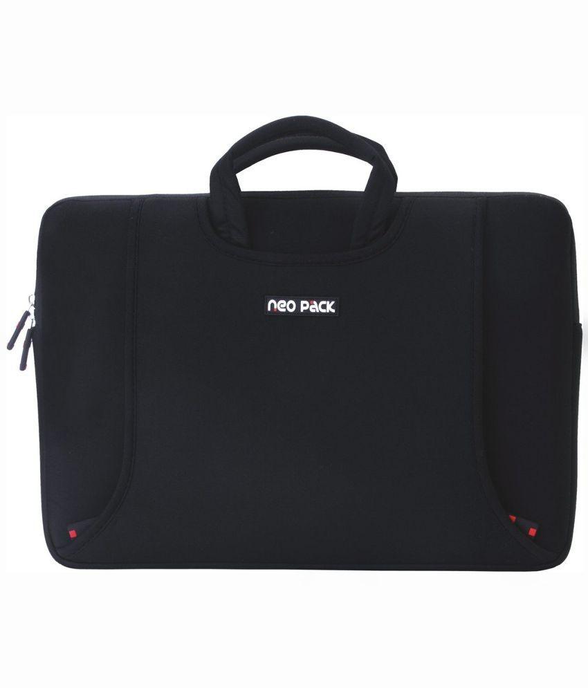 Neopack 3BK13-Relist Black Fabric Laptop Sleeve