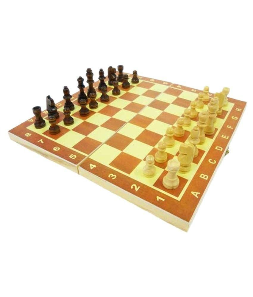 Zapra Multicolor Wooden Tournament Chess Set
