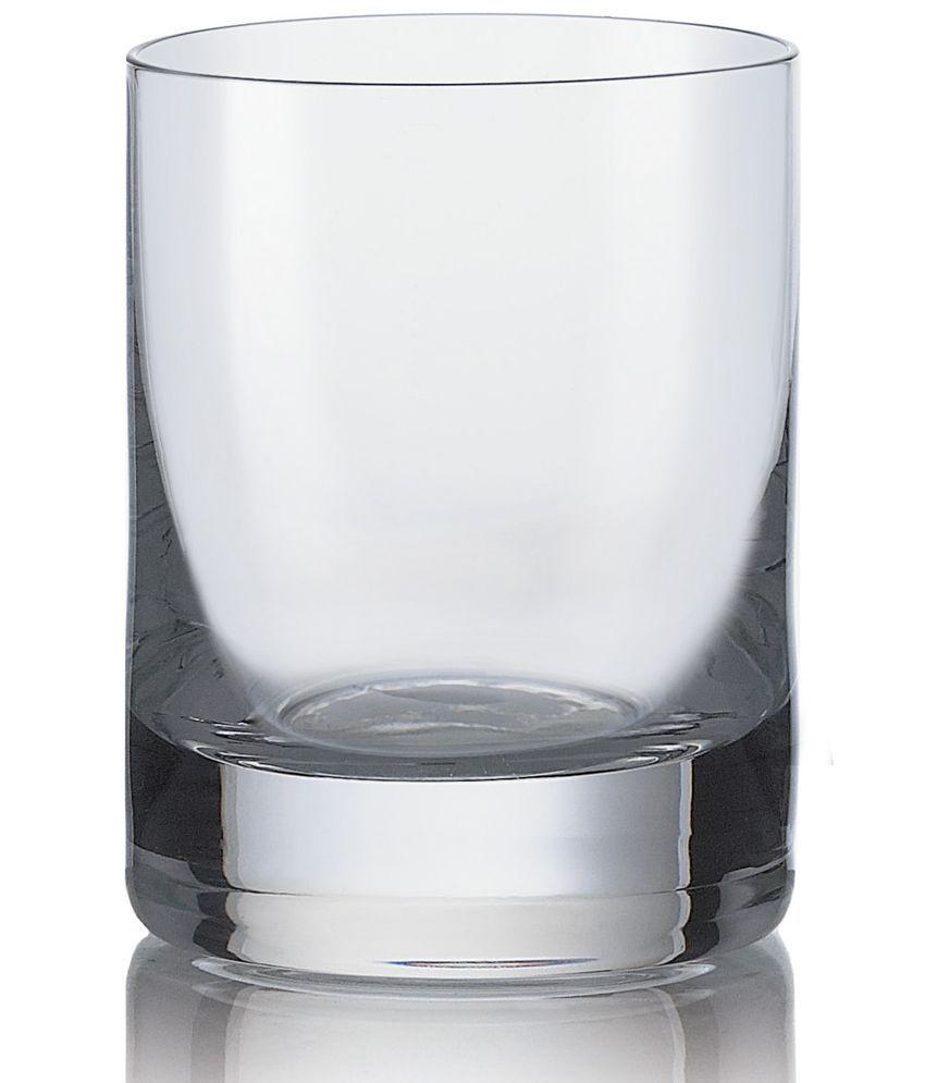 Bohemia Crystal White Shot Glass   Set of 6