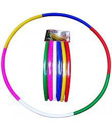 Buy More Multicolour Plastic Hula Hoop