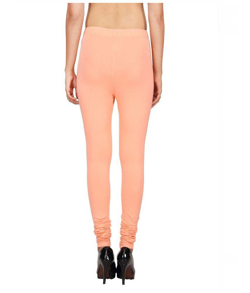 b5d7d5aa3b8e8 Awesome Orange Cotton Lycra Leggings Price in India - Buy Awesome Orange  Cotton Lycra Leggings Online at Snapdeal