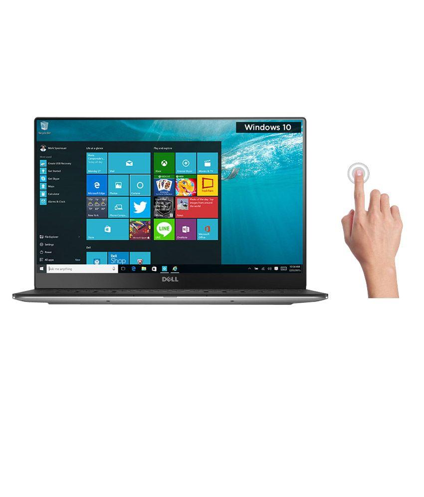 Dell XPS 13- Dino Notebook (Y560003IN9) (5th Gen Intel Core i5- 8GB RAM- 256GB SSD- 33.78 cm (13.3) Touch- Windows 10) (Silver)