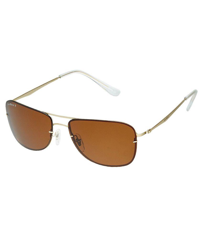 Joe Black Brown Rectangle Sunglasses ( JB-756-C1P )