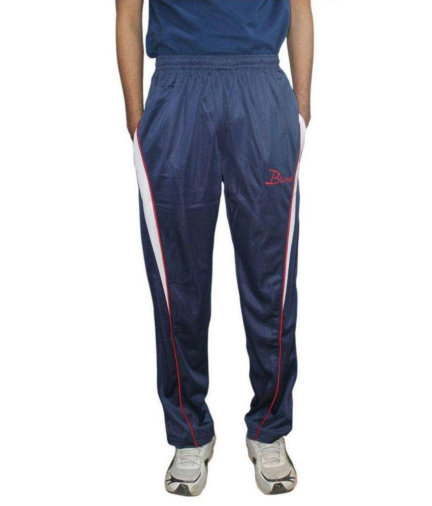 K K Enterprises Navy Trackpants