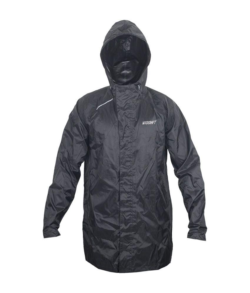 Wildcraft Basic Plus Raincoat - Anthracite