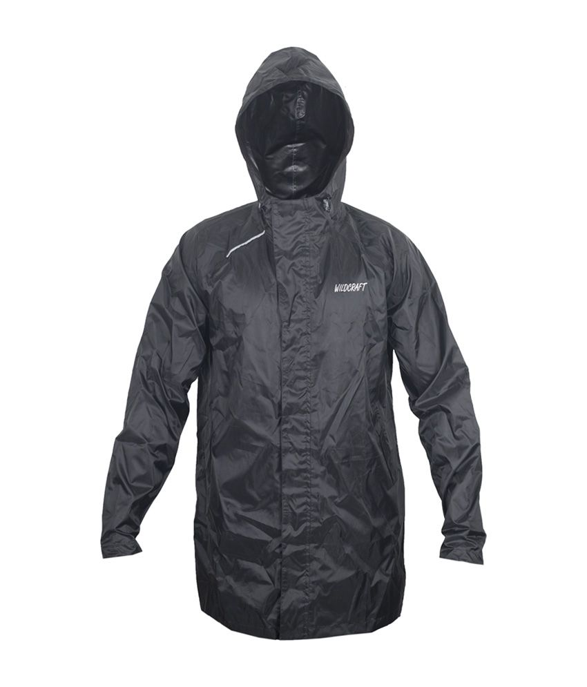 Wildcraft Basic Plus Raincoat - Anthracite