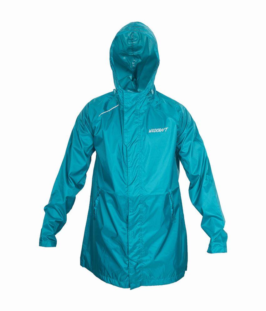 Wildcraft Basic Plus Raincoat - Deep Blue