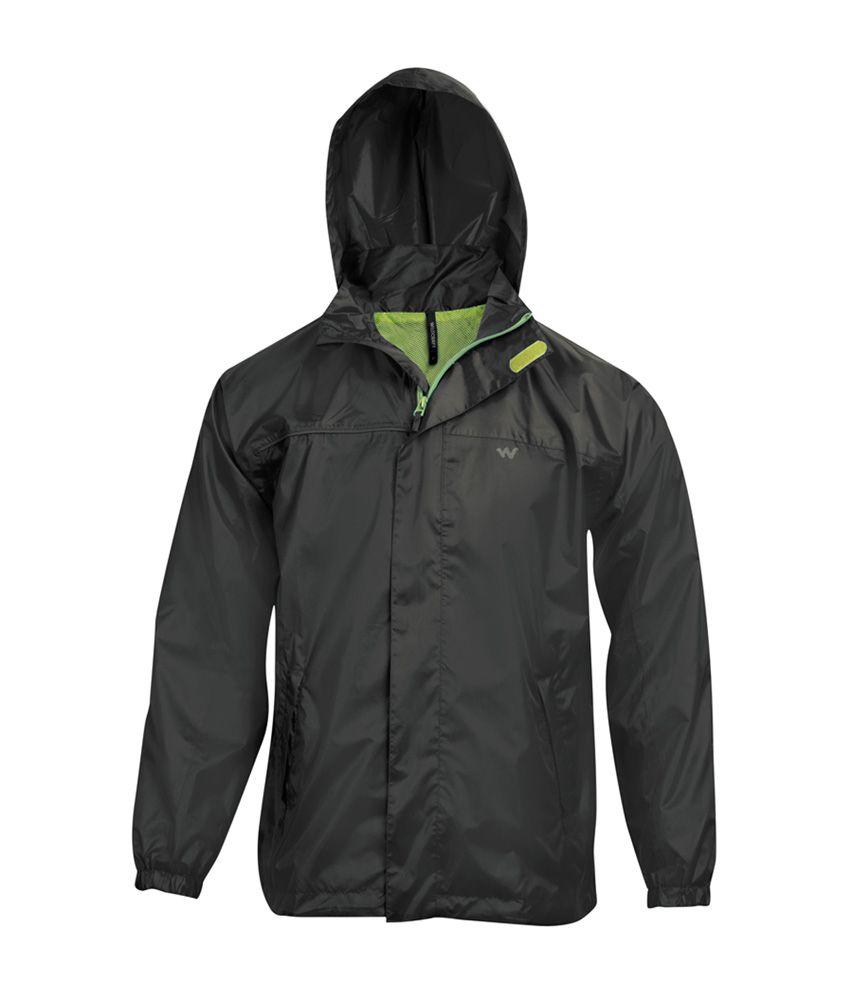 Wildcraft Black Rain Jacket