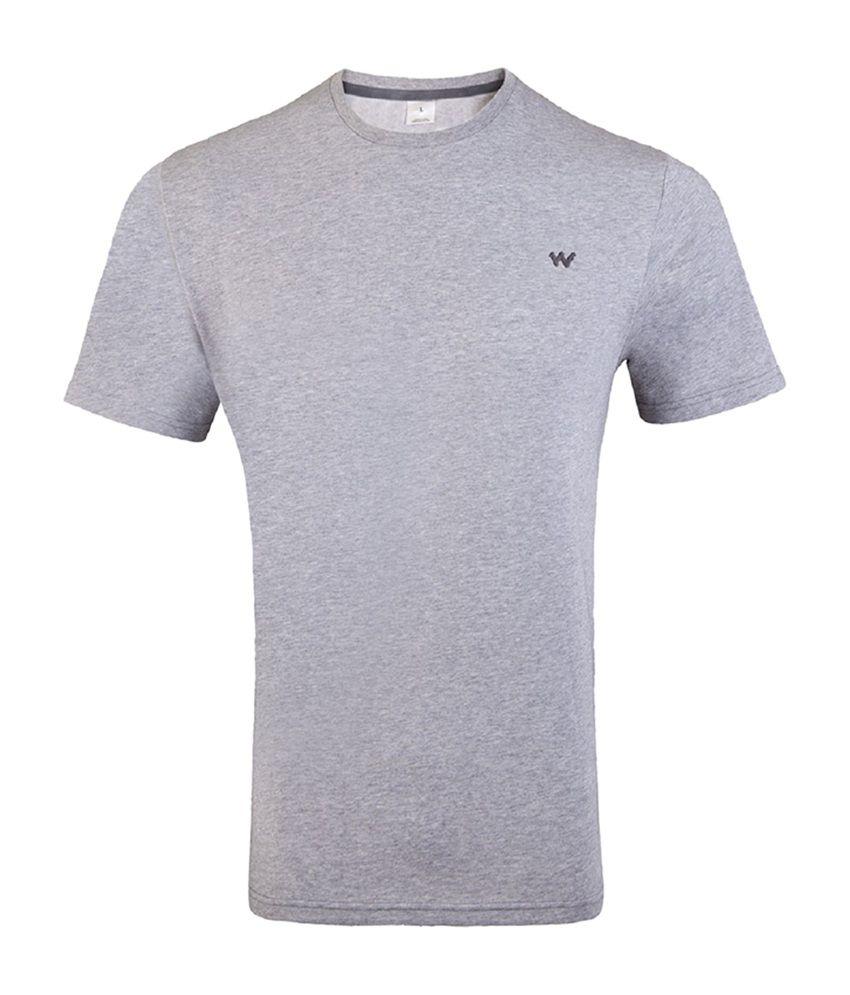 Wildcraft Essential Men's T-Shirt - Grey