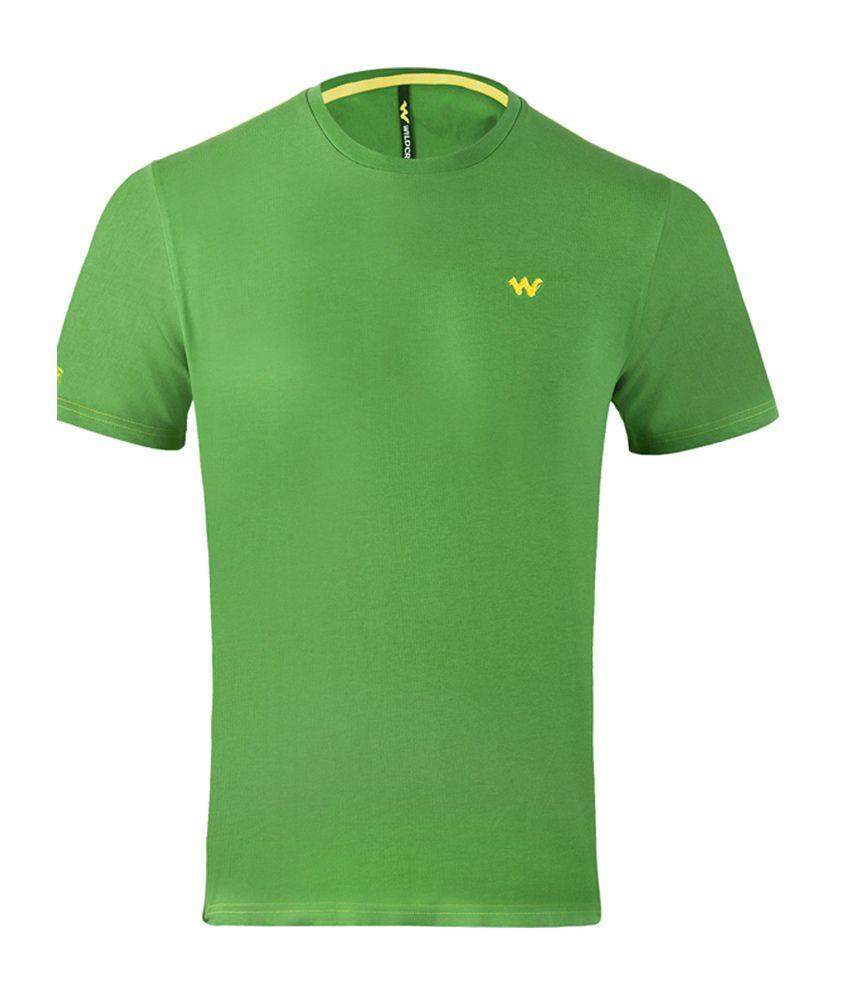 Wildcraft Essential Men's T-Shirt - Green