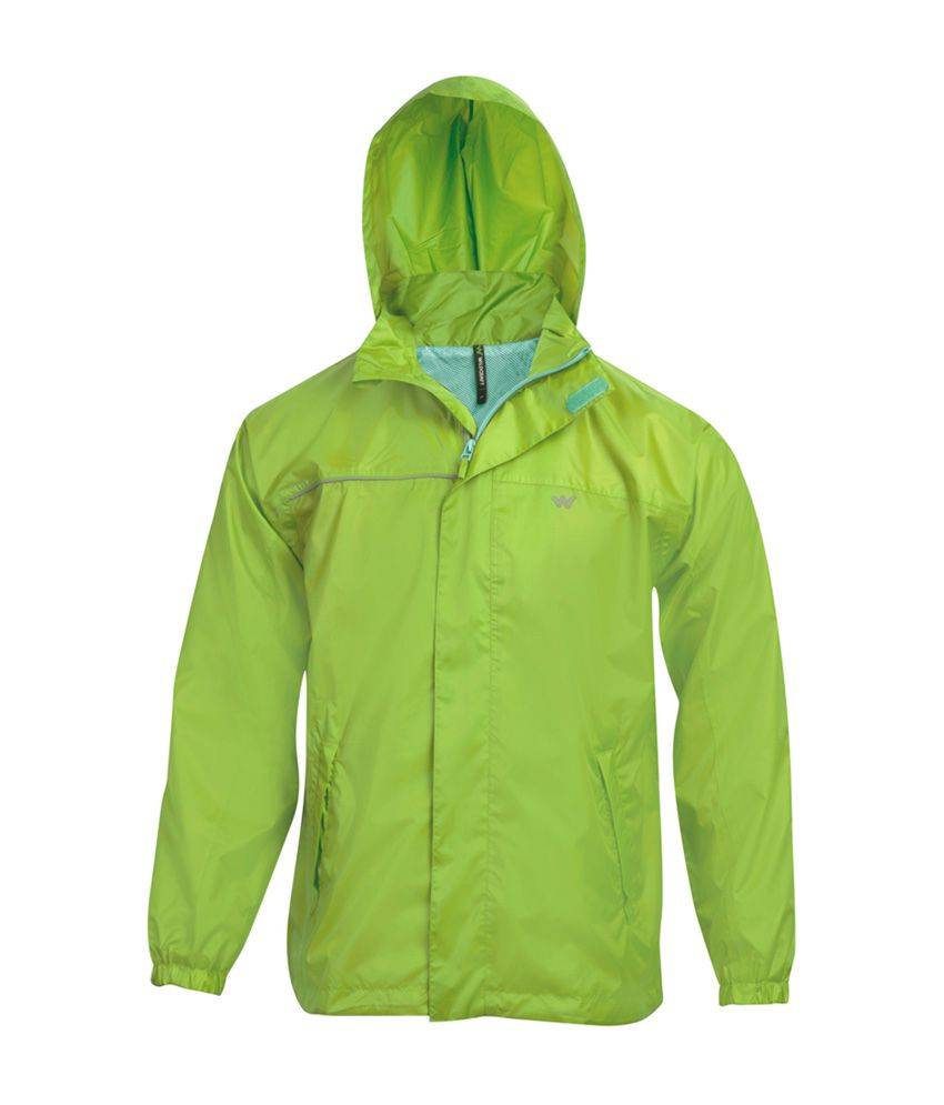 Wildcraft Green Rain Jacket