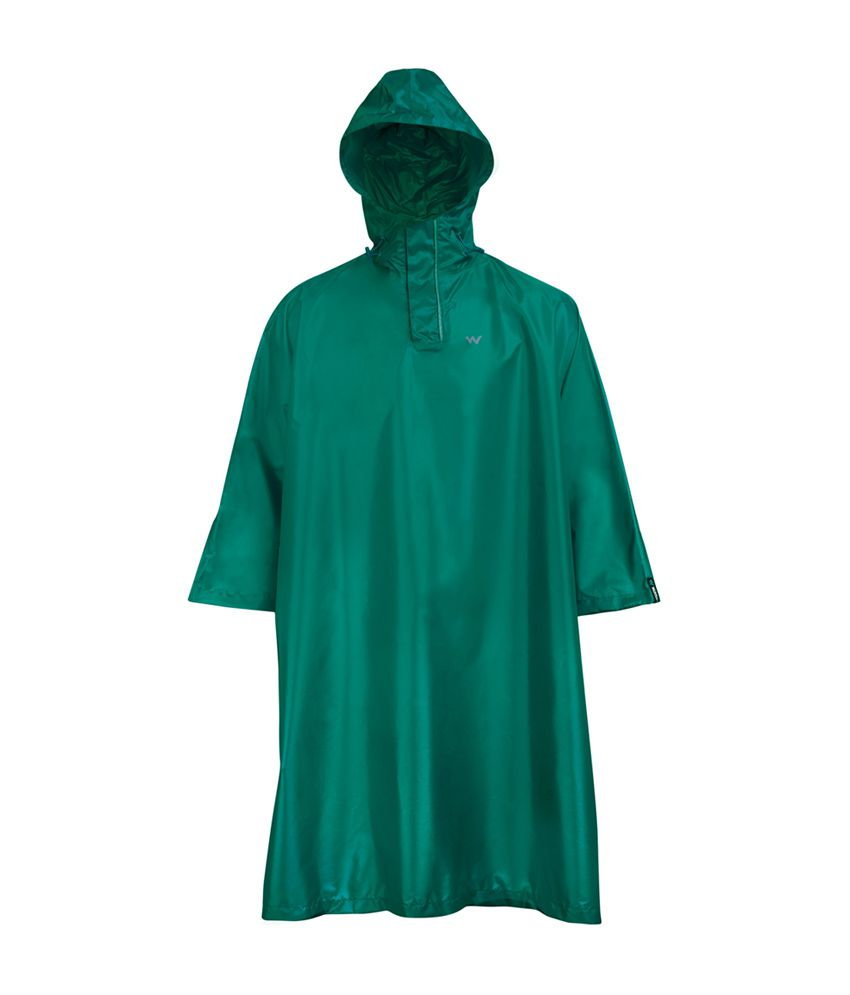 Wildcraft Green Rain Poncho