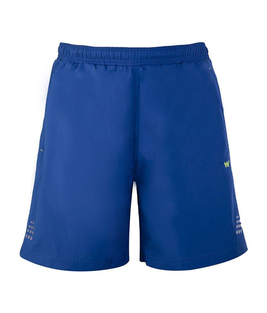 Wildcraft Men's Active Shorts - Blue
