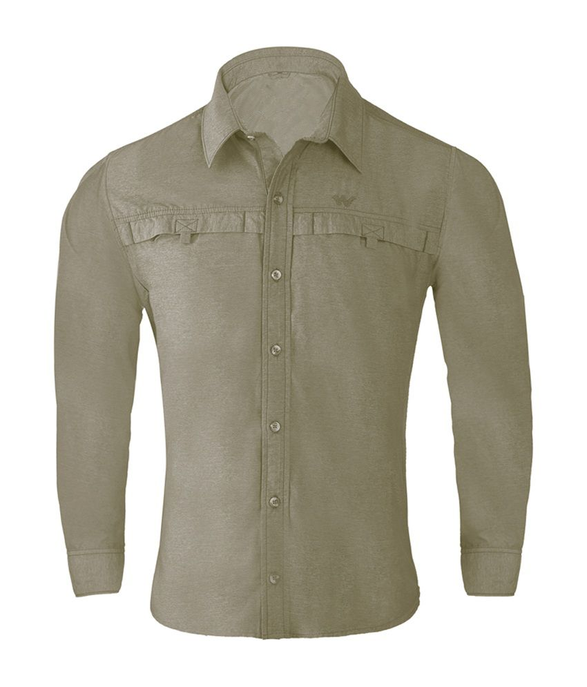 Wildcraft Men's Hiking Shirt - Brown