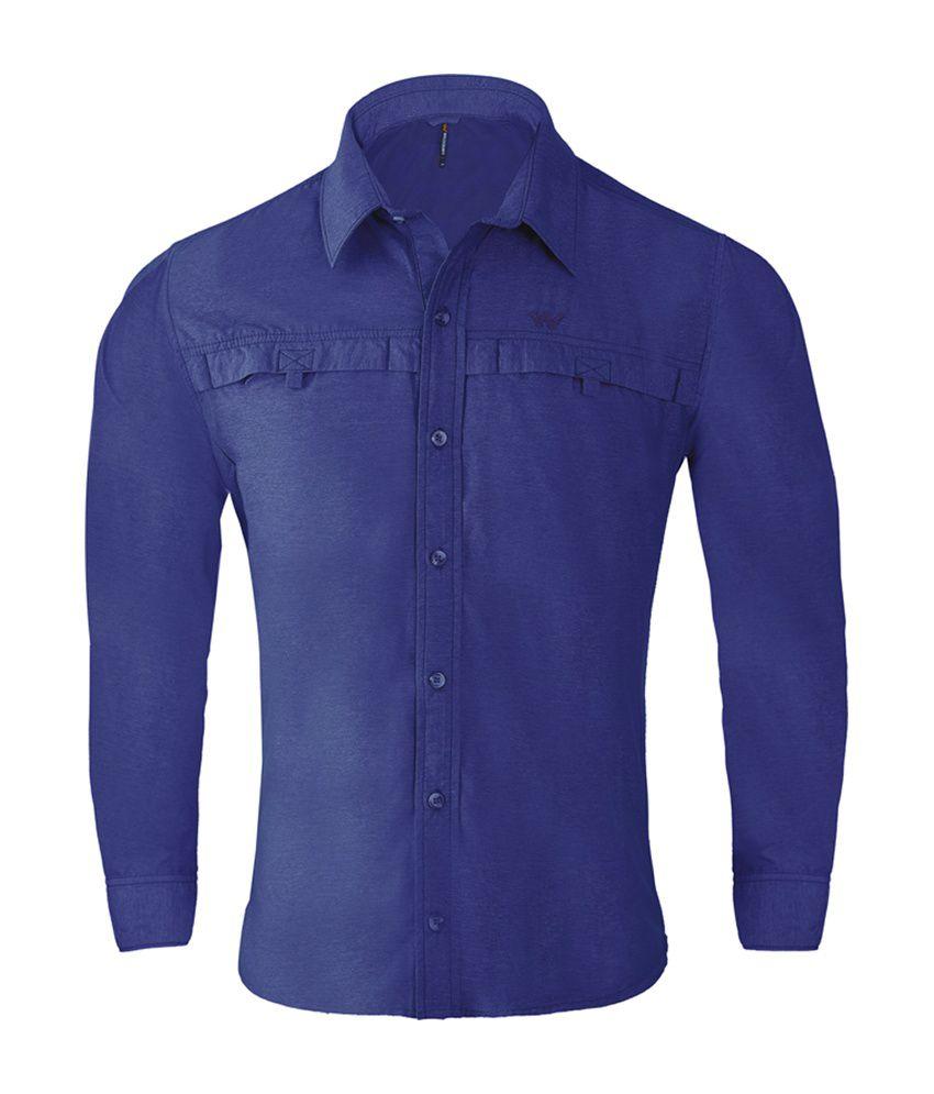 Wildcraft Men's Hiking Shirt - Blue