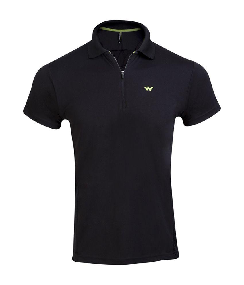 Wildcraft Men's Hiking T-Shirt - Black