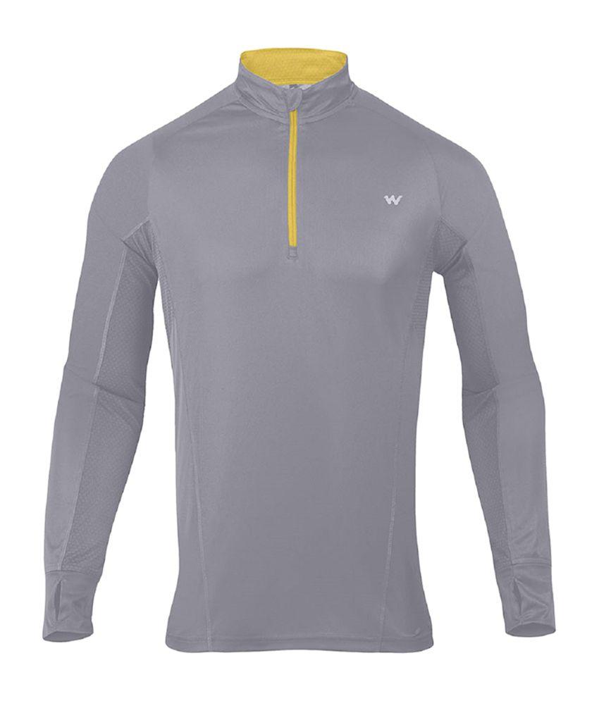 Wildcraft Men's Hiking T-Shirt - Grey