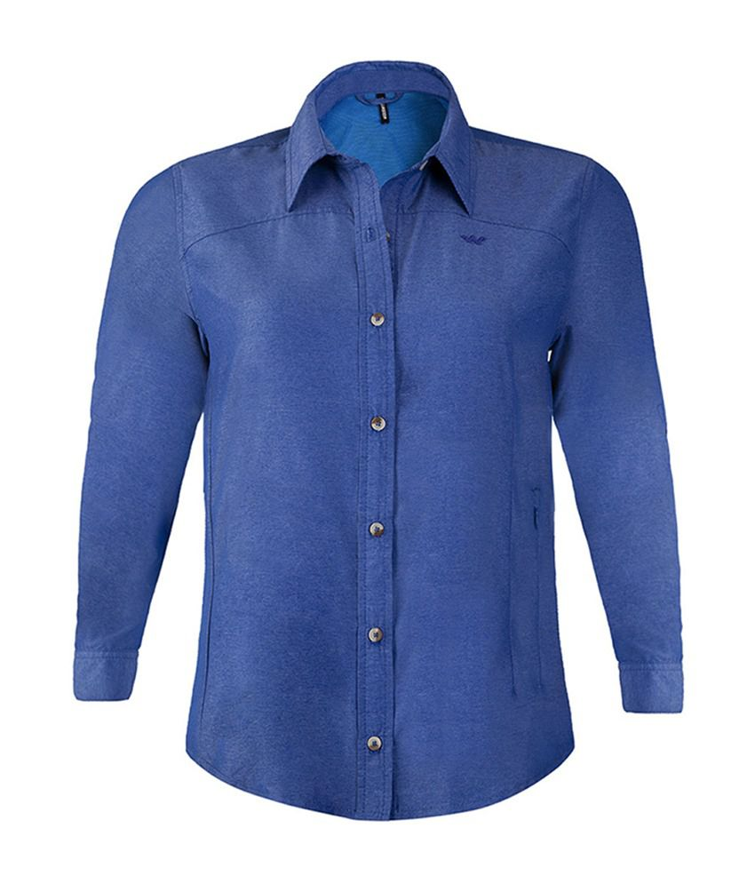 Wildcraft Women's FS Hiking Shirt - Blue