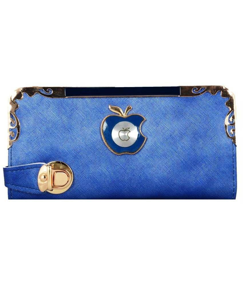 Lizzie Blue Wallet