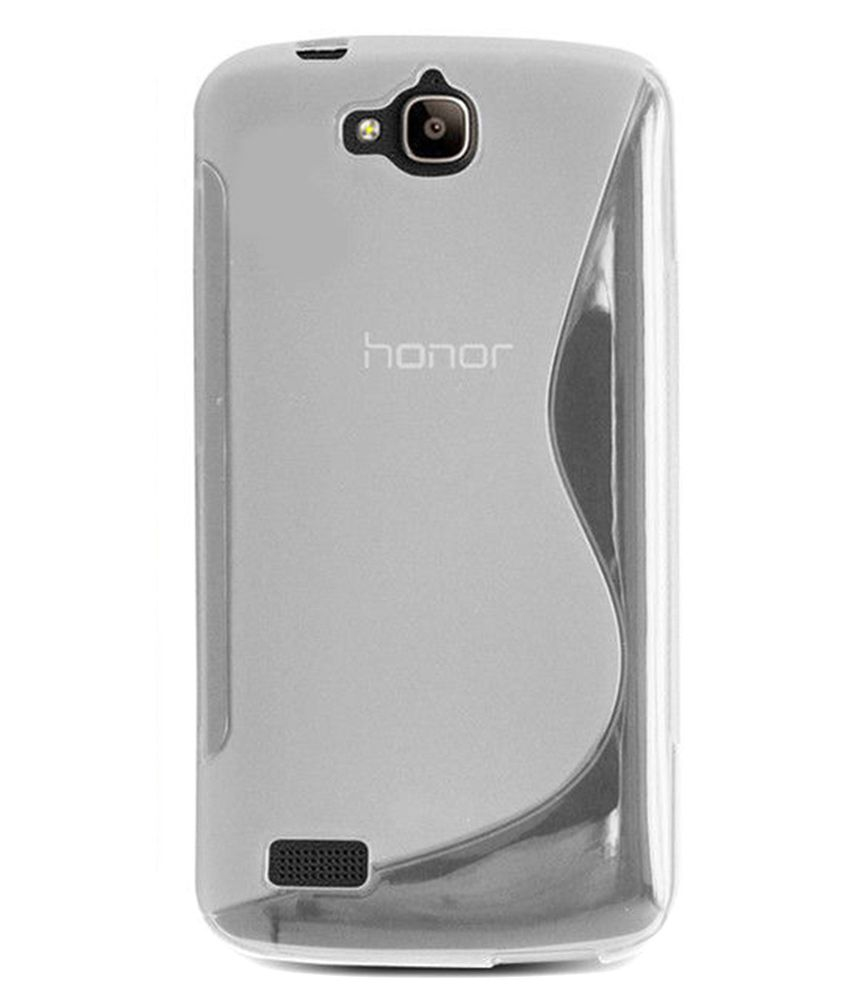 pretty nice a22ca 3dafc Ziaon Back Cover for Huawei Y6 Pro - Transparent