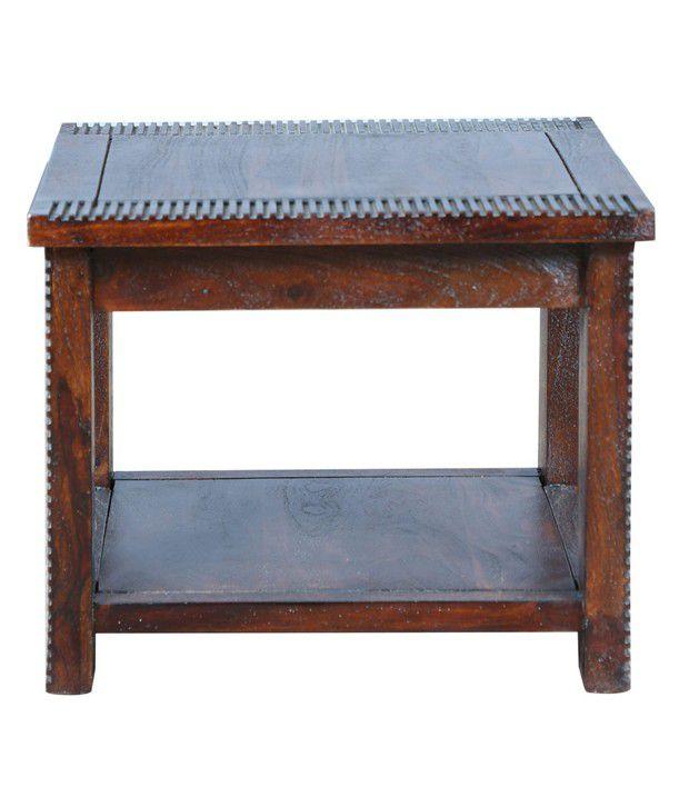 Hometown Venus Solid Wood Side Table