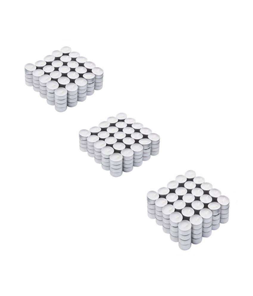 Madash White Candles - Pack of 150