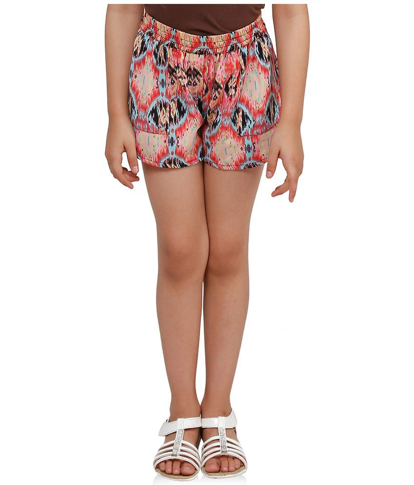 Oxolloxo Multicolour Polyester Shorts