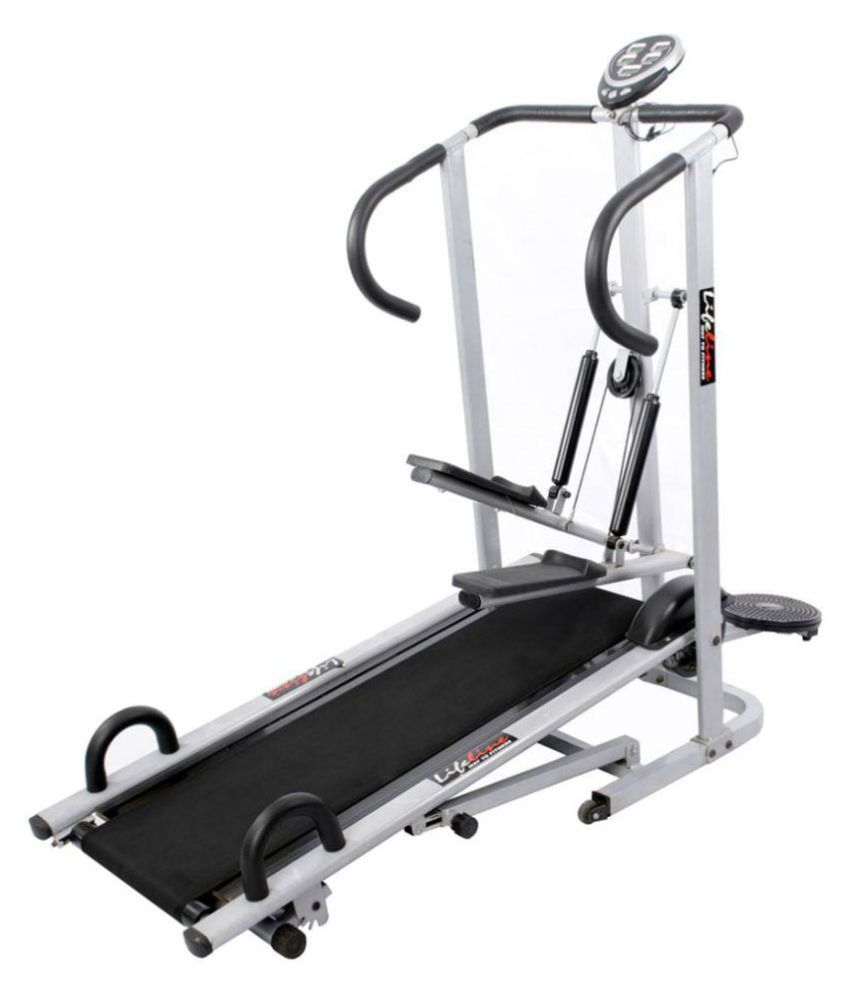 Sole Treadmill Order Tracking: Lifeline 4 In 1 Manual Treadmill: Buy Online At Best Price