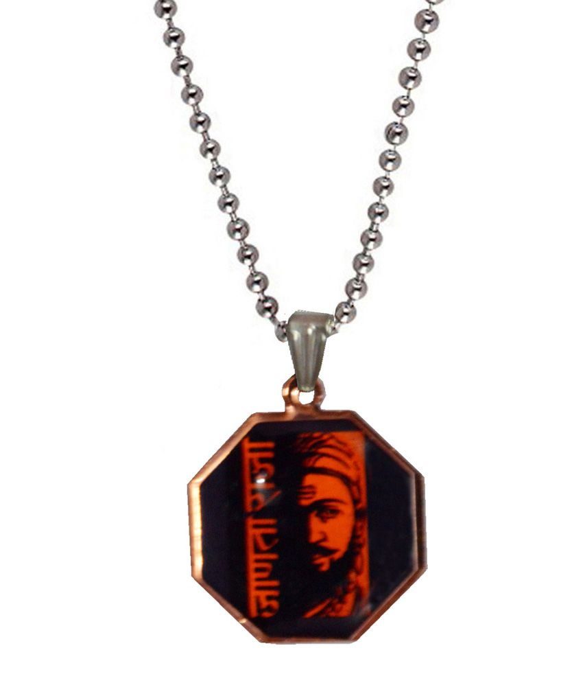 Men Style Red Stainless Steel Pendant with Chain