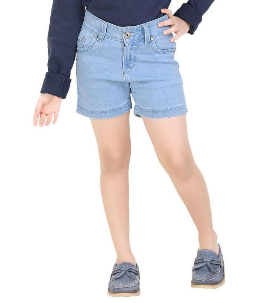 Clench Blue Denim Shorts