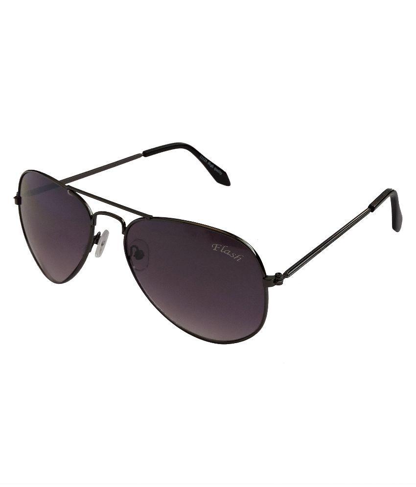 Flash Voilet Aviator Sunglasses ( 11125 )
