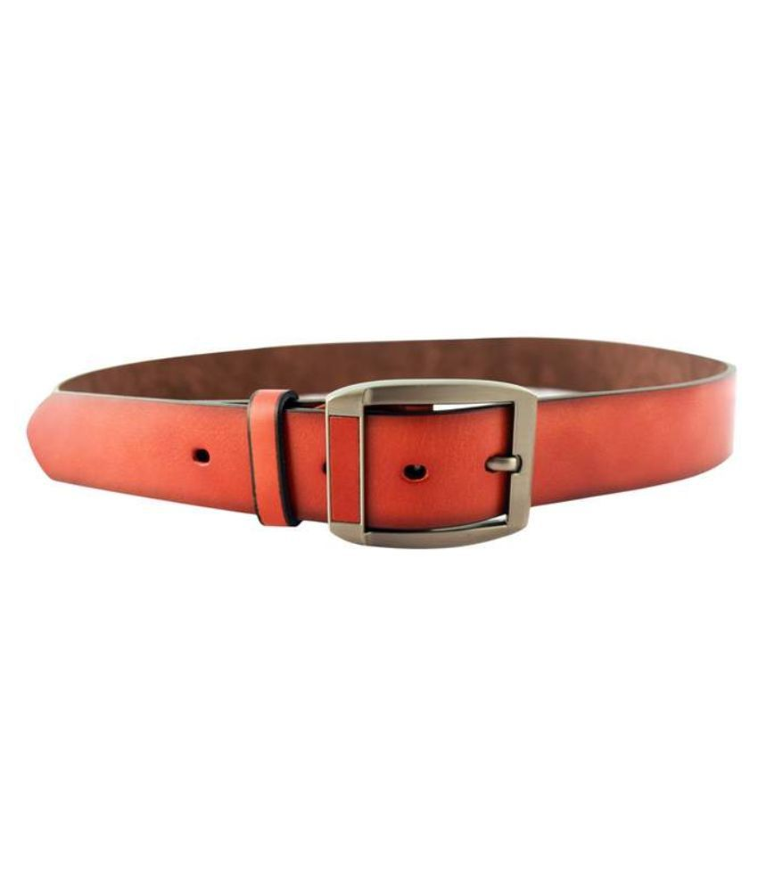 IPG Brown Leather Belt