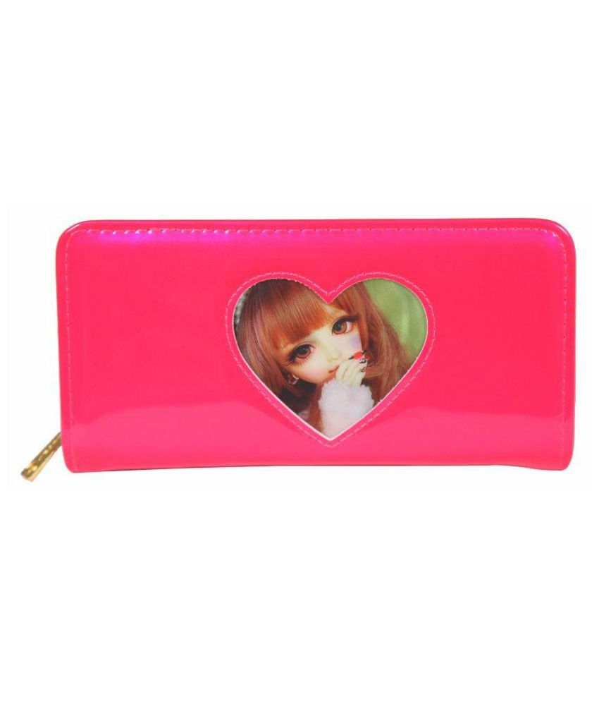 Saiba Pink Wallet