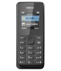 Nokia 105 S.S ( Below 256 MB Black )