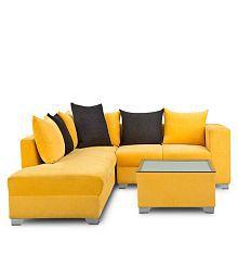 Furniture Kraft Mexico Sofa Set 311 Floral Design