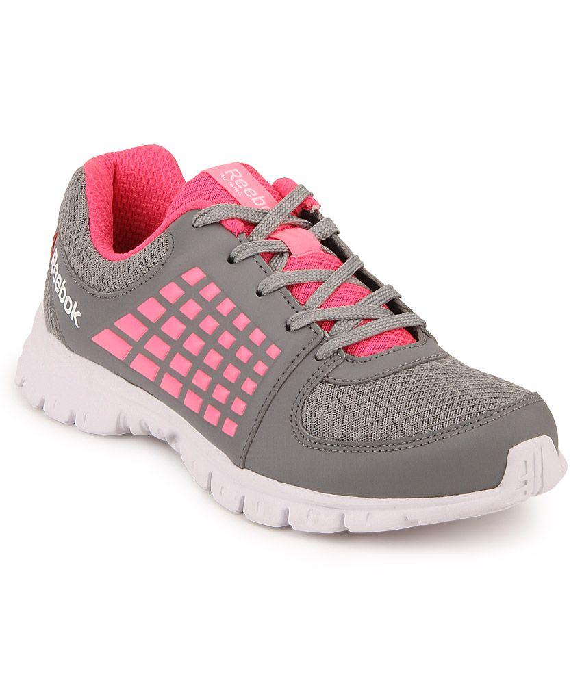 Reebok Gray Lifestyle Sports Shoes
