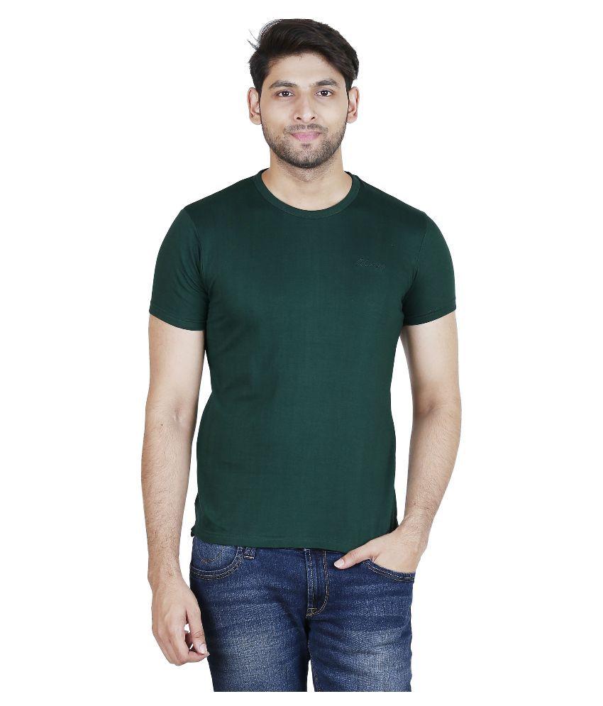 Blumerq Green Round T Shirt