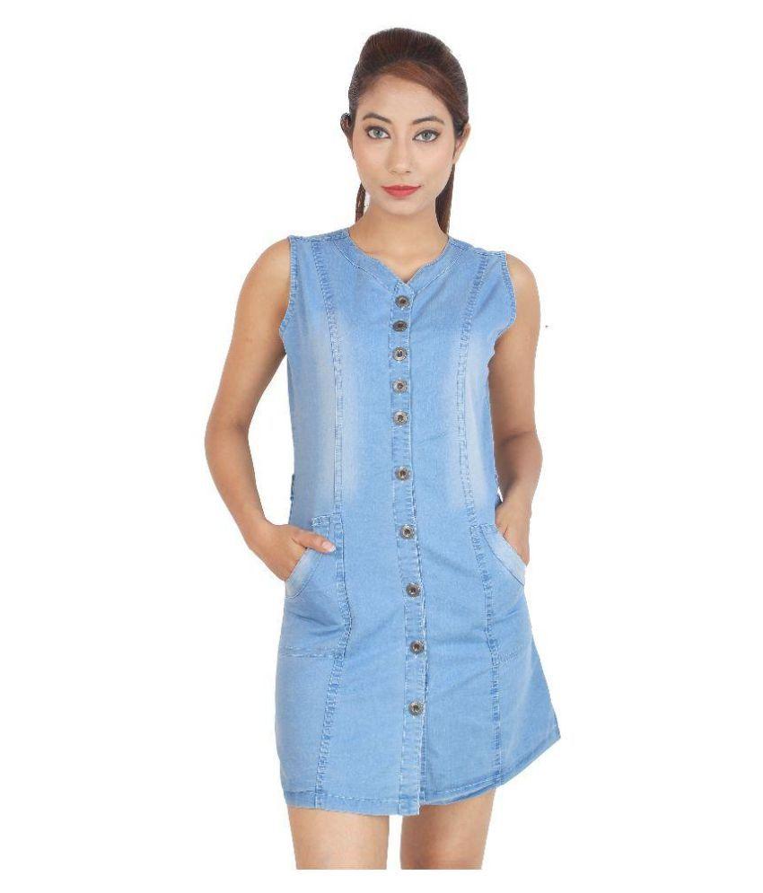 0330b0d371 Cherry Clothing Denim Dresses - Buy Cherry Clothing Denim Dresses Online at  Best Prices in India on Snapdeal
