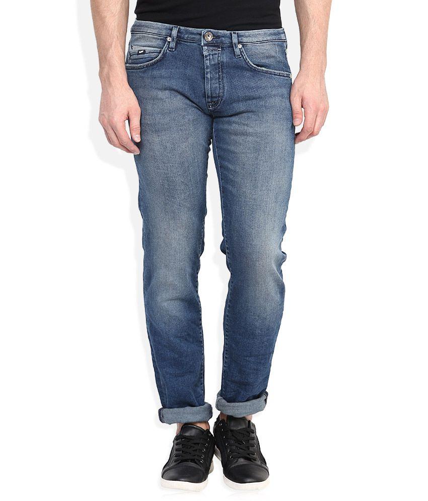GAS Blue Regular Fit Jeans