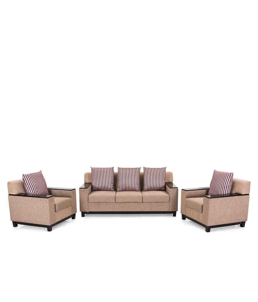 4b876ee4d54 Royal Oak Milan Fabric 3+1+1 Sofa Set - Buy Royal Oak Milan Fabric ...