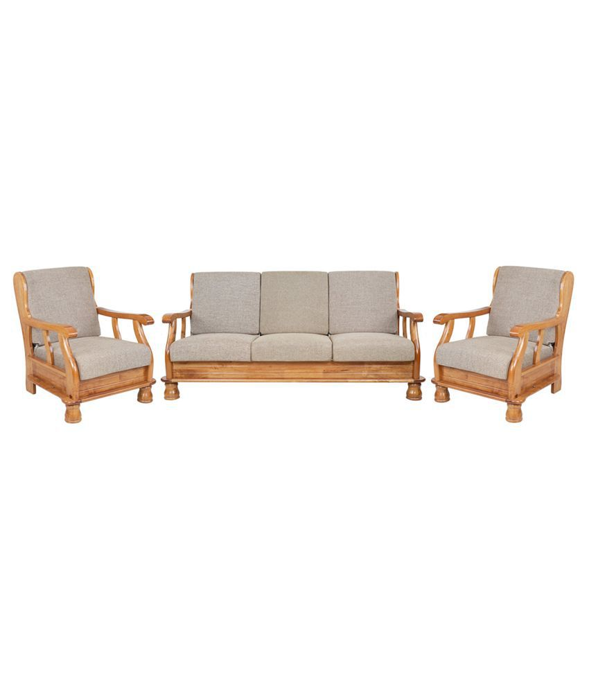 7f2313683c0 Royal Oak Vita Fabric 3+1+1 Sofa Set - Buy Royal Oak Vita Fabric 3+1 ...