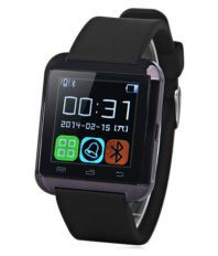 JM Black jeo613 Bluetooth 2.0 Smart Watch
