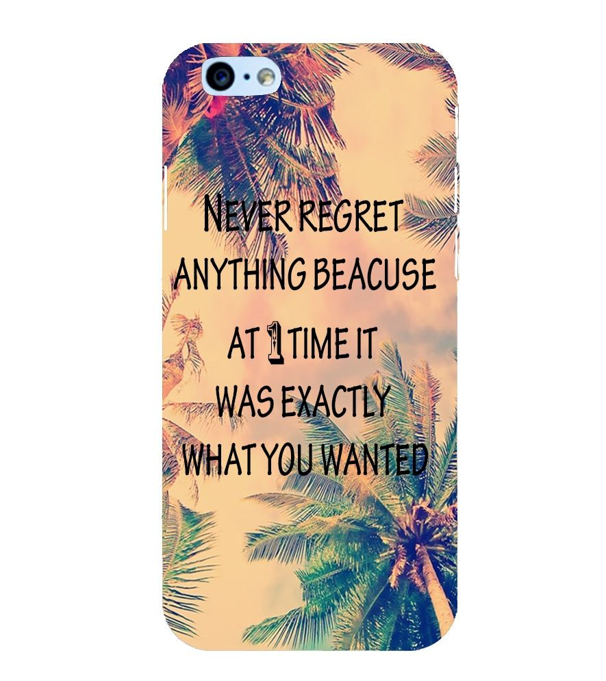 Evaluze nature Printed Back Case Cover for Apple Iphone 6