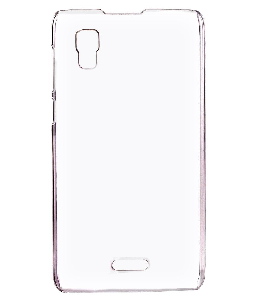 new style fdc34 56182 RKA Plain Back Cover For Micromax Canvas Doodle 3 A102 - Transparent