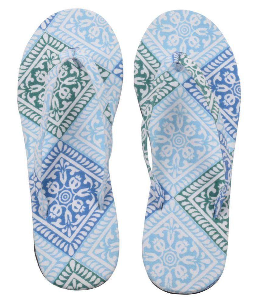 Hve Multi Color Slippers